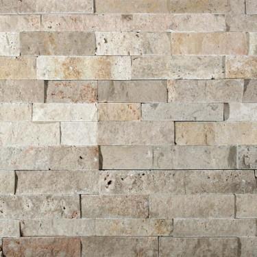 Naturstein Verblender - Riemchen - creme-beige dunkel