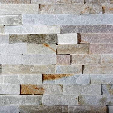 Naturstein Verblender - Riemchen - braun, beige