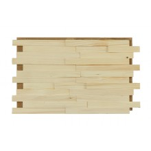 Holzpaneele Fichte - geölt, schmal