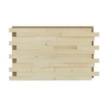 Holzpaneele Fichte - natur, schmal