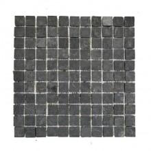 Naturstein Mosaikfliesen - schwarz anthrazit 2,3 x 2,3