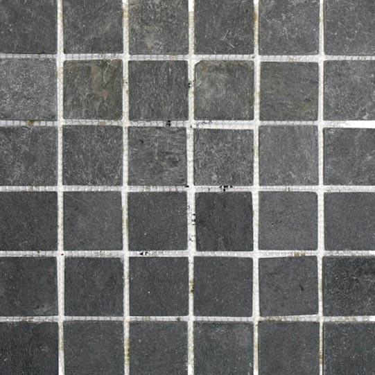 ... Mosaikfliesen   Schiefer Mosaik   Naturstein   Schwarz Anthrazit