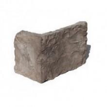 Bruchstein Riemchen grau - Ecksteine