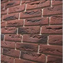 Steinoptik Wandpaneele - Klinker rot