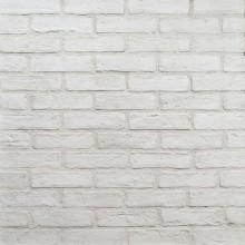 Ziegelriemchen Retro Weiß